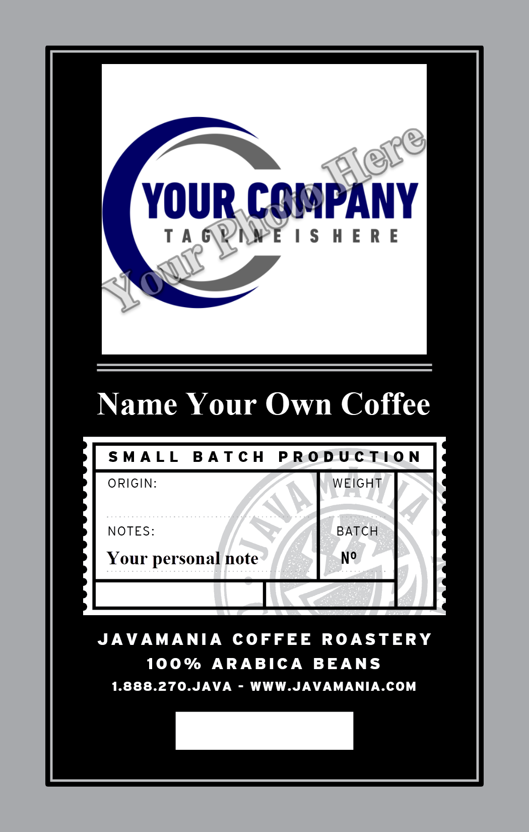 French Roast - Private Label