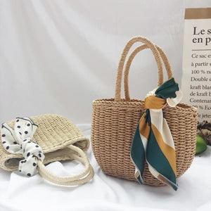Bag Bags Basket Beach Bohemian