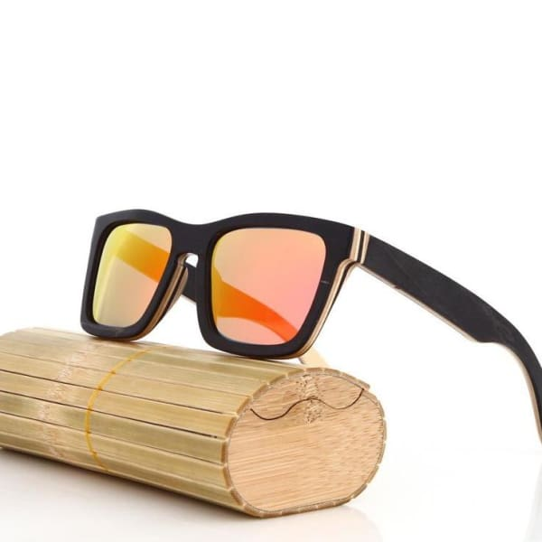 Black Handmade Men Natural polarized 1