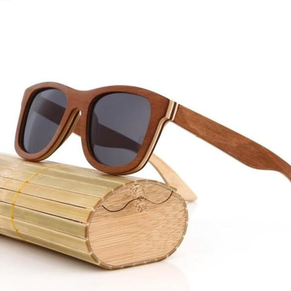 Black Handmade Men Natural polarized 4