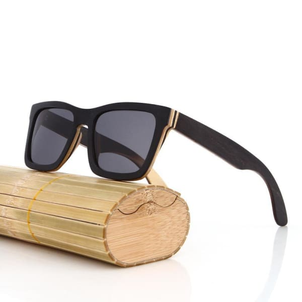 Black Handmade Men Natural polarized