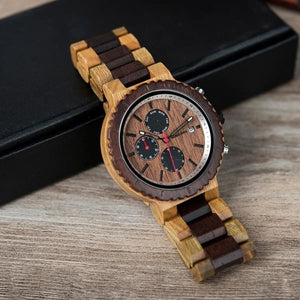 Brand Chronograph Gifts Luxury Men