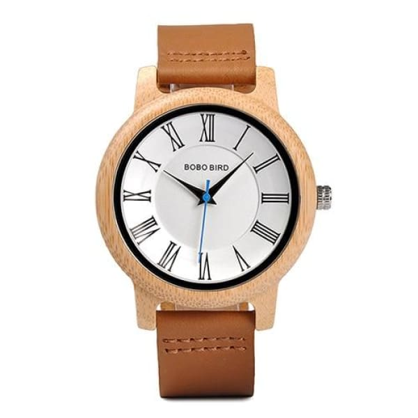 Classic Couples Quartz watches Women bamboo watch 44mm