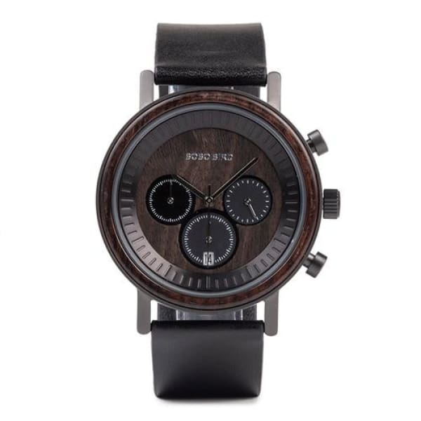Box Gift in Men Stainless Black Watch