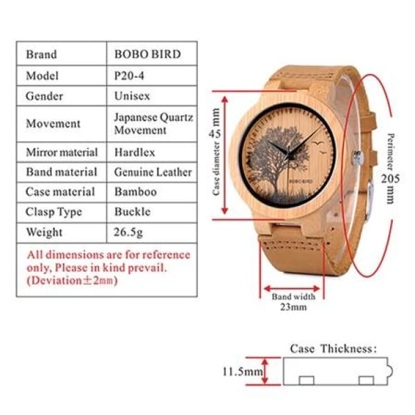 Animals Bamboo Dragonfly Fashion Men P20-4
