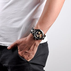 Brand Elegant Luxury Mens Metal