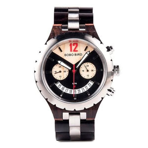 Brand Elegant Luxury Mens Metal Ebony 43mm