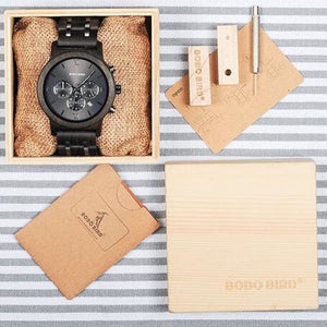 Band Business Color Luxury Men V-P19-1woodbox