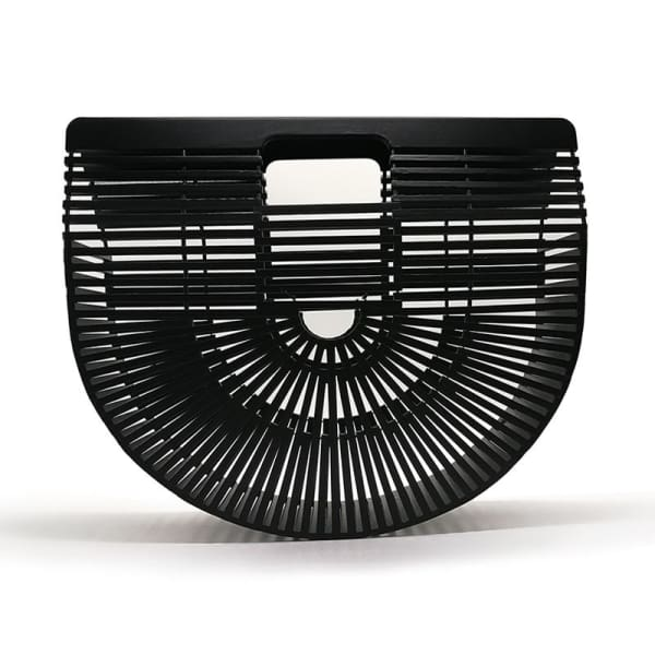 And Bags Bamboo Beach Designer black big