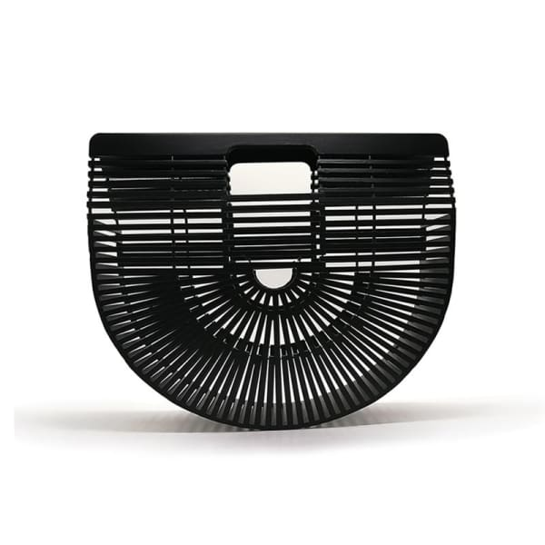 And Bags Bamboo Beach Designer black small