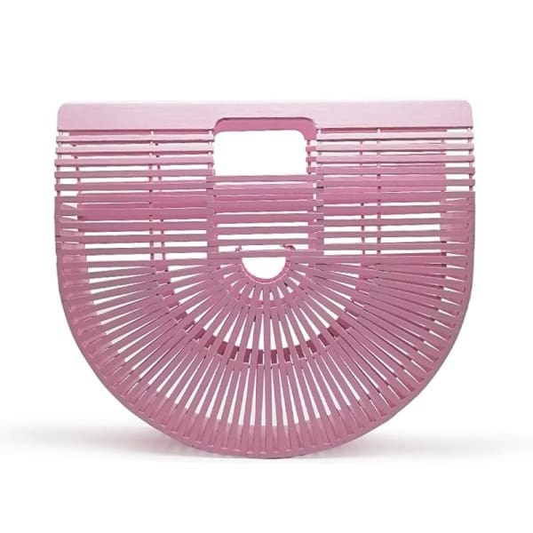 And Bags Bamboo Beach Designer pink big