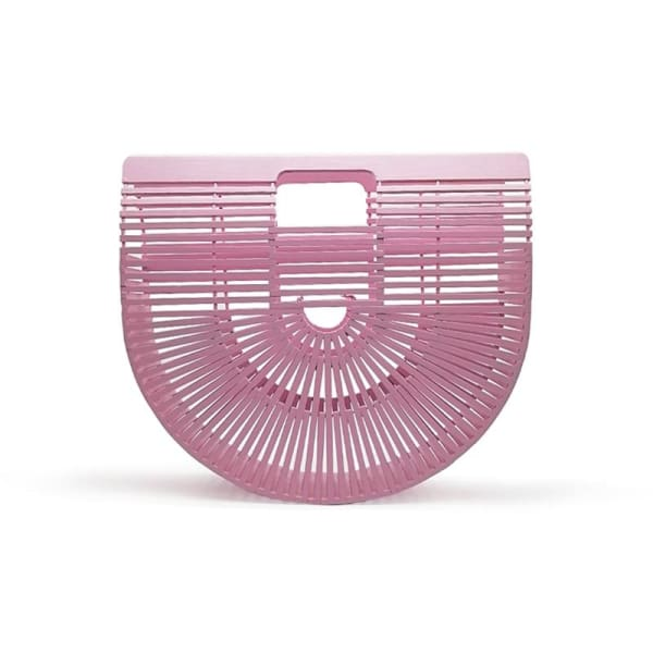 And Bags Bamboo Beach Designer pink small