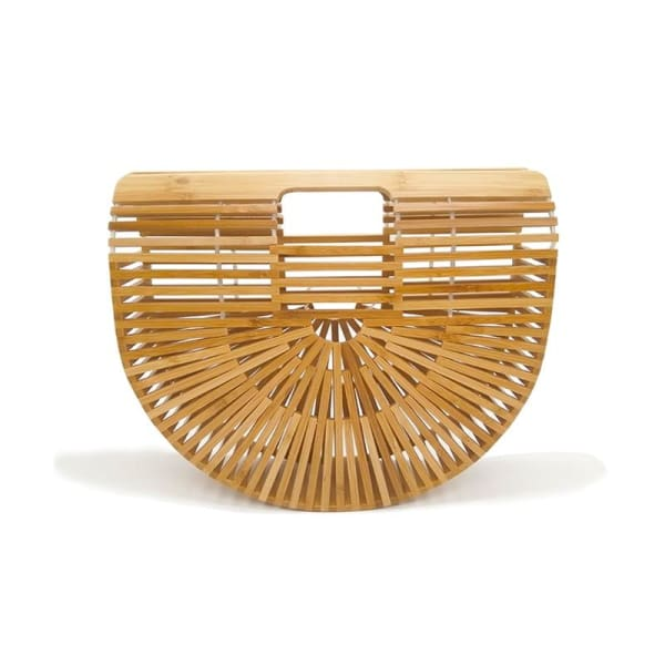 And Bags Bamboo Beach Designer wood small