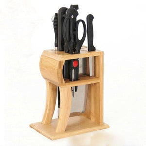 Arrival Bamboo Holder Kitchen Essentials Knife