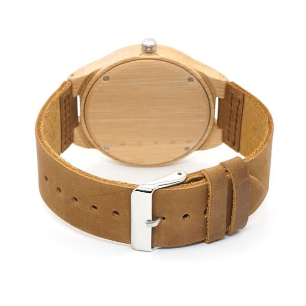 Accept Bamboo for Gift Leather