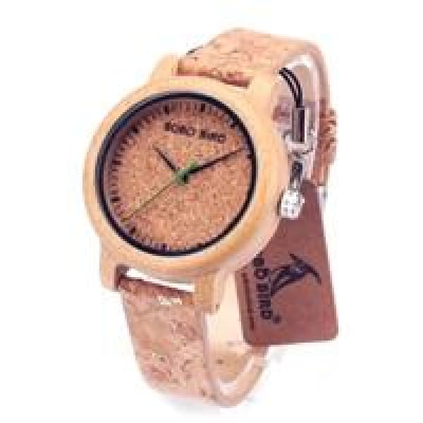 Analog Bamboo Clocks Couple Display M12 watch for women