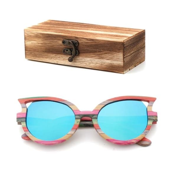 and bamboo box cat color wood box-173