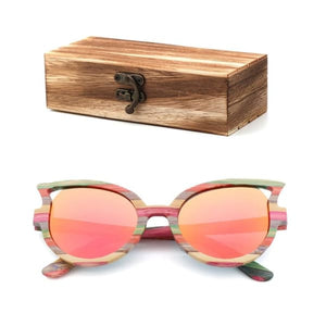 and bamboo box cat color wood box-175