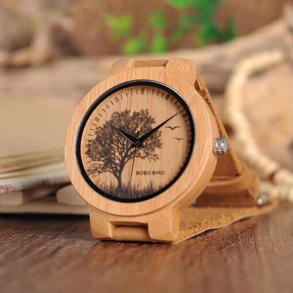 Bamboo Design Dial Face Gifts