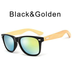 400 bamboo fashion for frame Black Golden