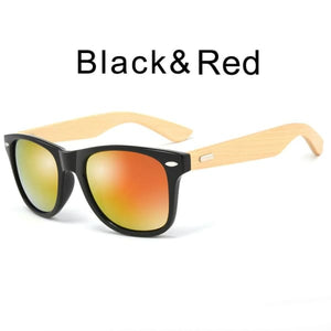 400 bamboo fashion for frame Black Red