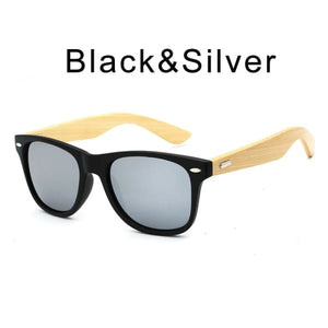 400 bamboo fashion for frame Black Silver