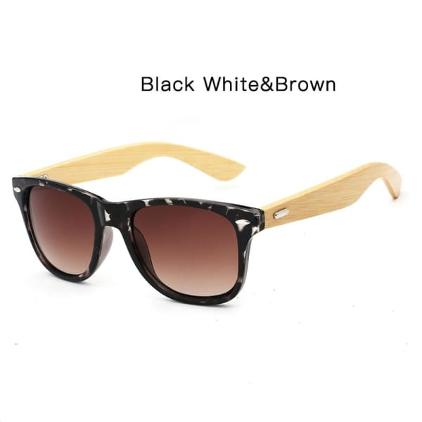 400 bamboo fashion for frame BlackWhite Brown