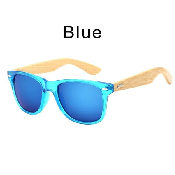 400 bamboo fashion for frame Blue
