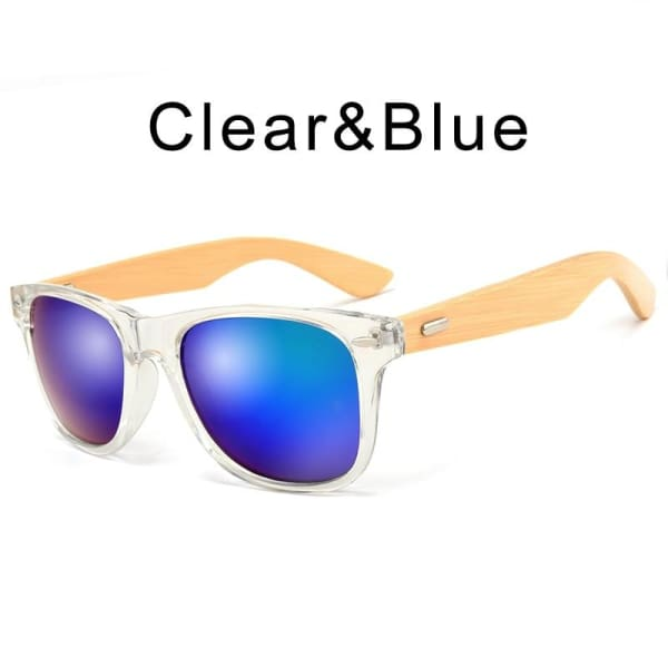 400 bamboo fashion for frame Clear Blue-173