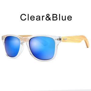 400 bamboo fashion for frame Clear Blue-193