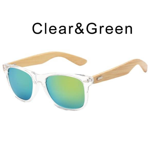 400 bamboo fashion for frame Clear Green