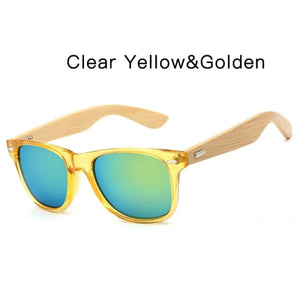 400 bamboo fashion for frame ClearYellow Golden