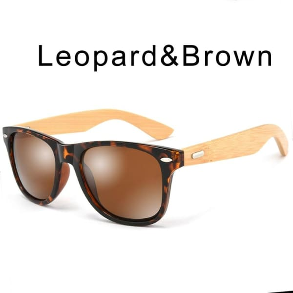 400 bamboo fashion for frame Leopard Brown