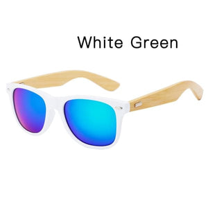 400 bamboo fashion for frame White Green
