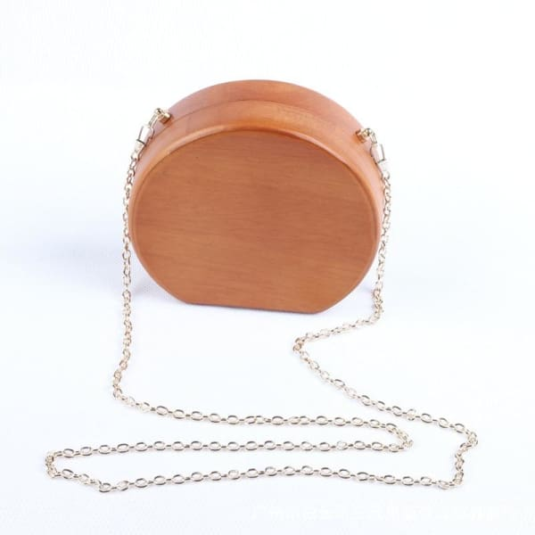 Clutch Handbag Wedding Wood