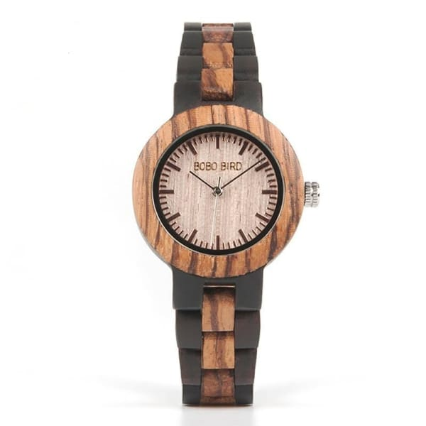 Ladies Quartz Strap Watches Wooden Women