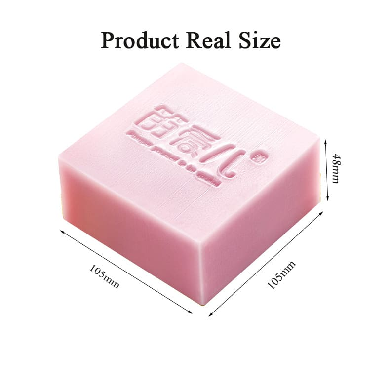 Rose Extract Handmade Soap for Removing Blackhead Shrink Pores