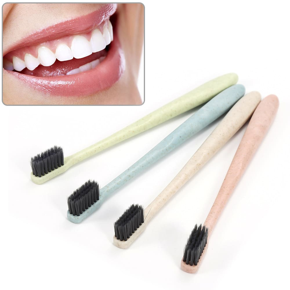 Kids Eco-Friendly Natural Bamboo Toothbrush