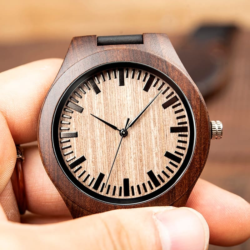 Personalized Wallet and Wooden Watches