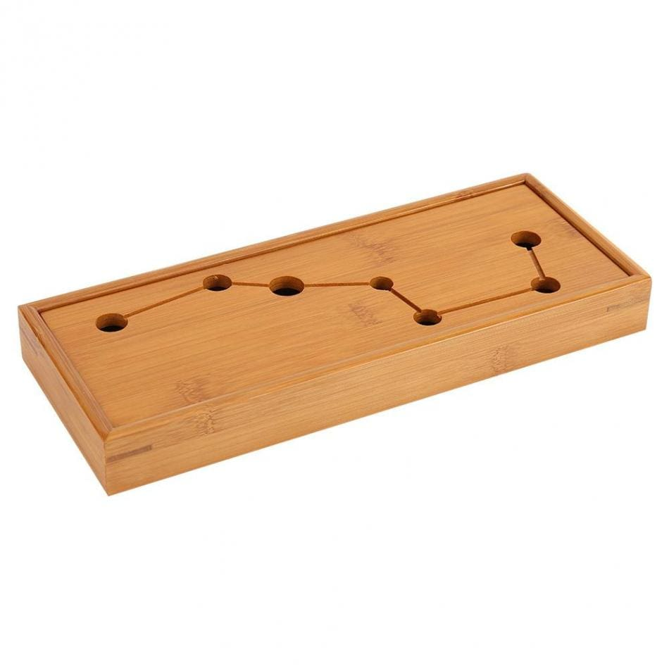 Bamboo with Seven Holes Serving Tray (wooden)