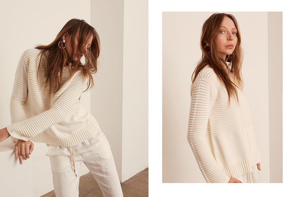 Aerial Turtleneck Knit and Field Pant - POL Clothing AW19