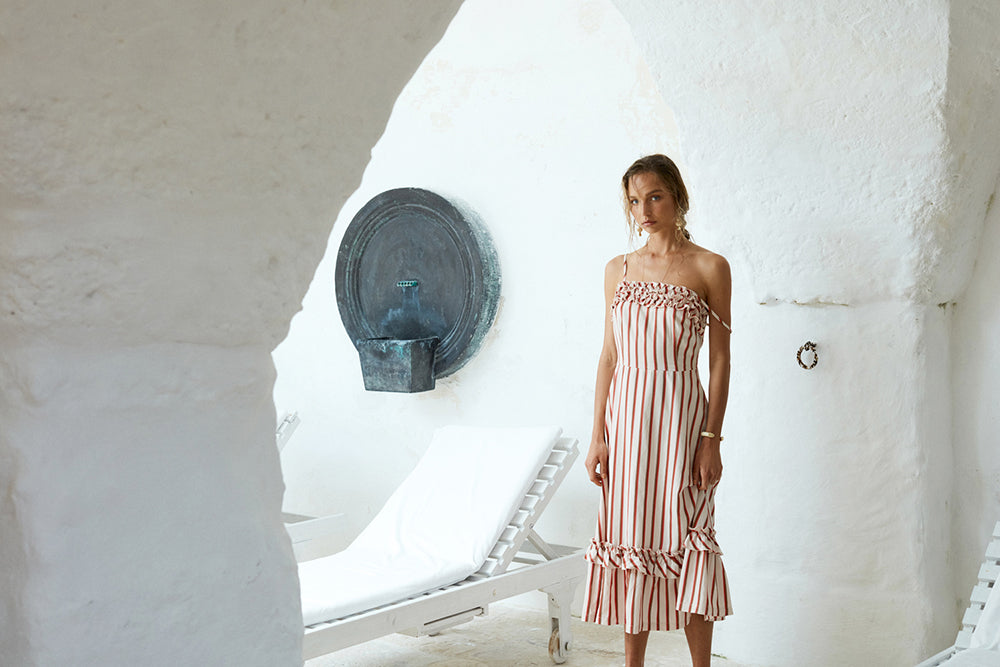 Izi Simundic wears the Laguna Dress