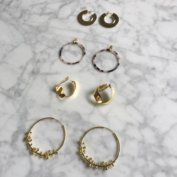 PD Paola Hoop Earrings