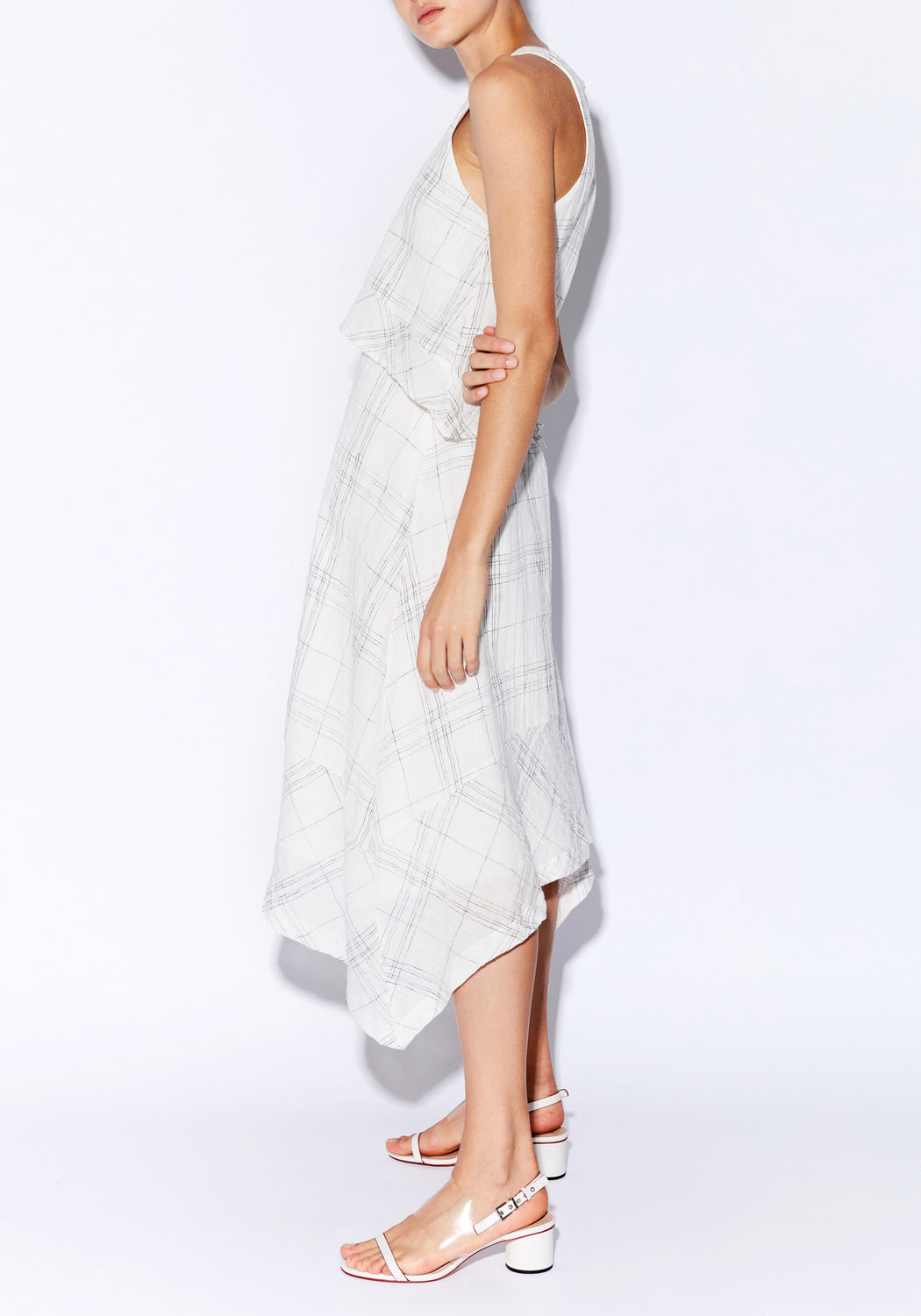 Lattice Double Layer Dress