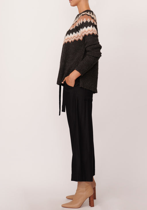 Manor Intarsia Knit