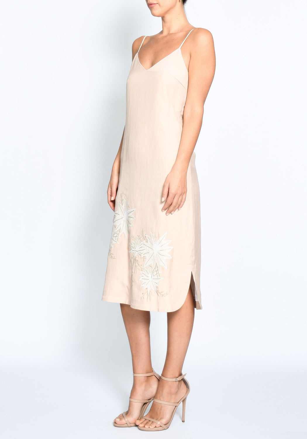 Anke Embroidered Cami Dress