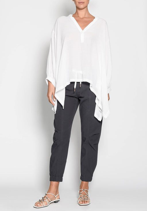 Como Draped Oversized Shirt