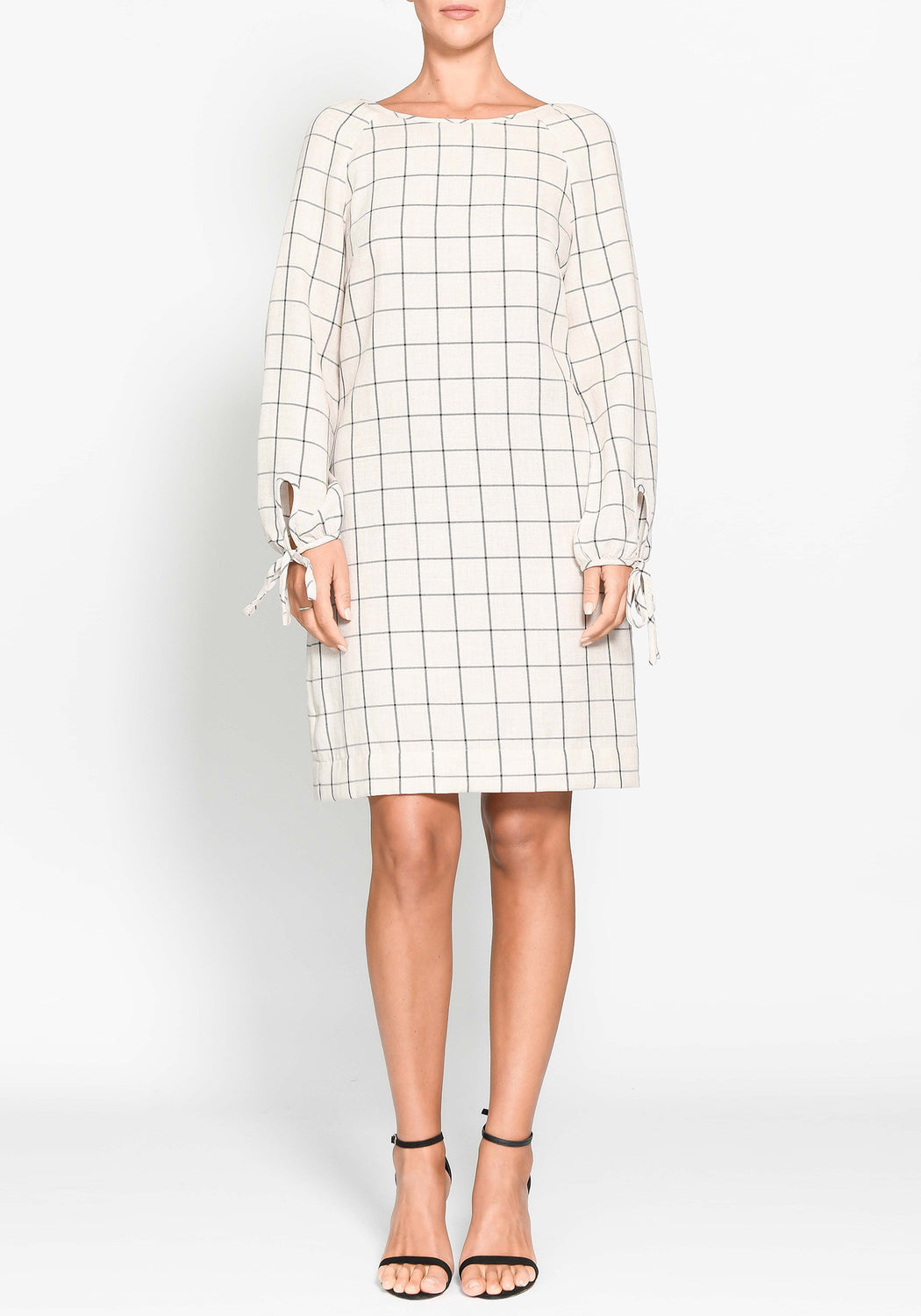 Grid Shift Dress