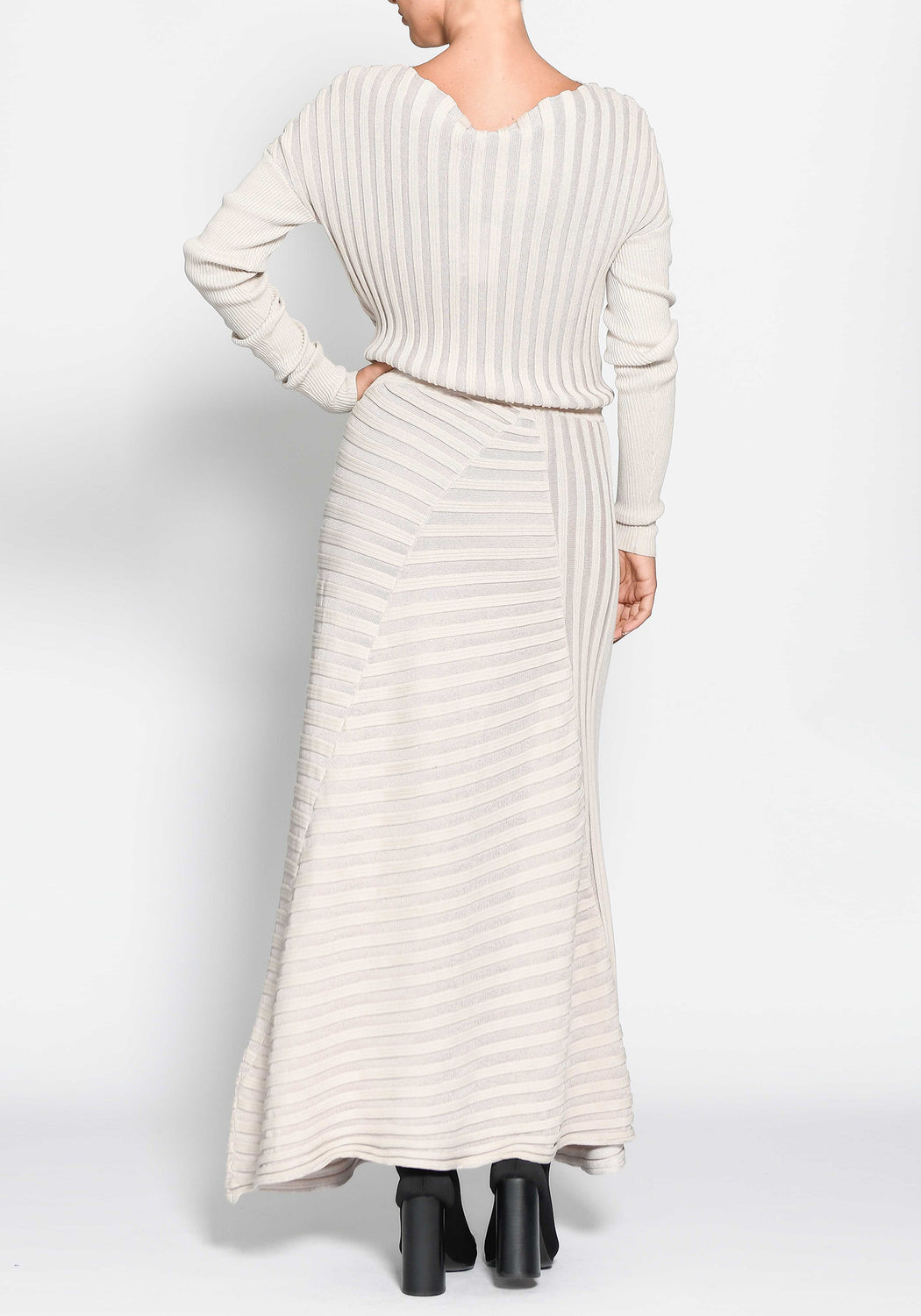 Atrium Ribbed Dress
