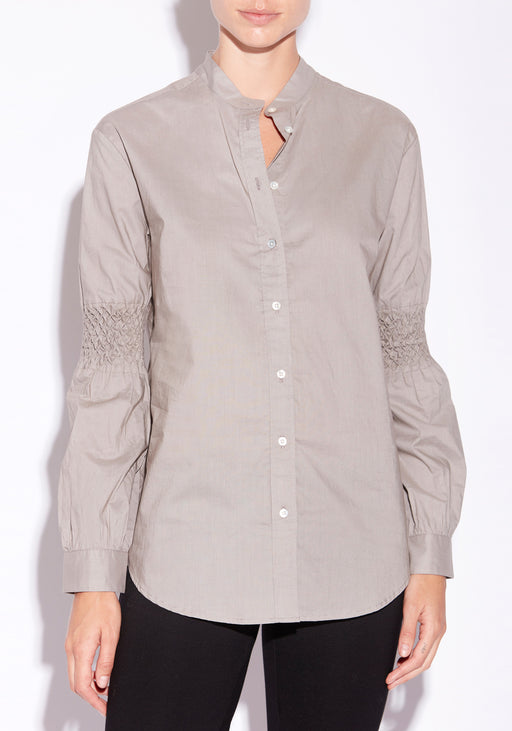 Quartz Smocked Shirt